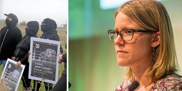 Så vill Kristina Yngwe (C) stoppa aktivisterna