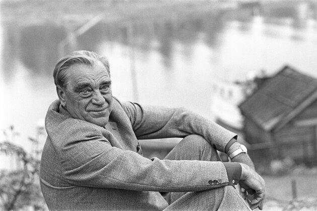 Vilhelm Moberg, 1898-1973. Bilden är tagen 1965.