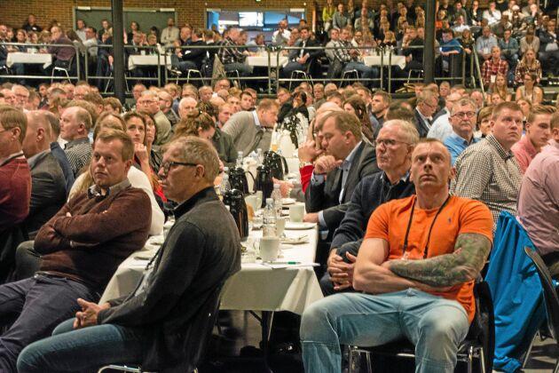 Intresset för årets griskongress i Herning är rekordstort med 2 200 anmälda deltagare.