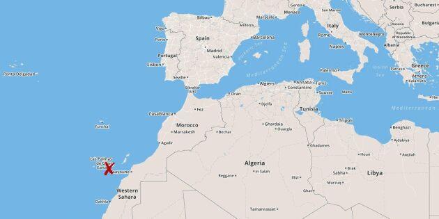Skogsbrand rasar på Gran Canaria