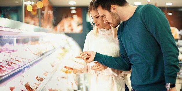Svenskarnas köttkonsumtion minskar – men fler väljer bort importerat