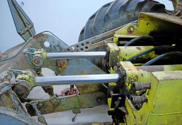 Den hydrauliska lyften skulle bli något extra på den svenska traktormarknaden när företaget ASJ bestämde sig för att ta fram en ny stortraktor.