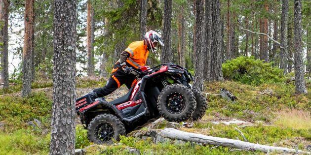 Byråkrati bromsar säkrare ATV-körning