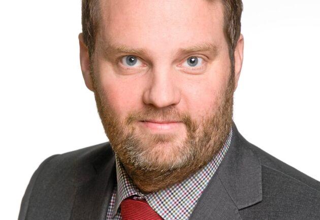 Markus Helin, chefsmäklare på LRF Konsult.