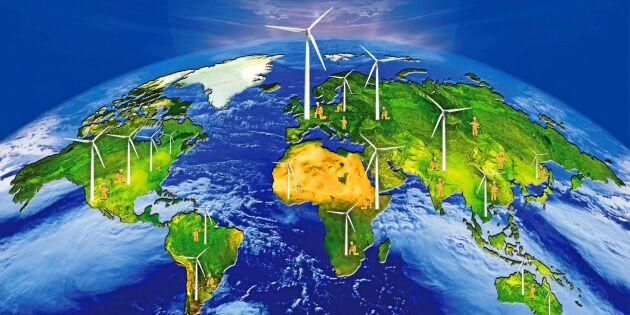 Brist på råvaror kan stoppa utbyggnad av fossilfri energi