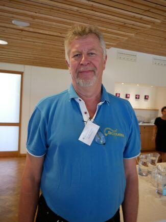 Lars Hellander är ledamot för Biodlarna och förbundets representant på LRF-stämman.