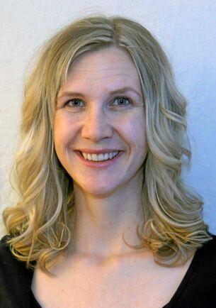 Karin Sandberg är biologen bakom receptsamlingen för biologisk mångfald.