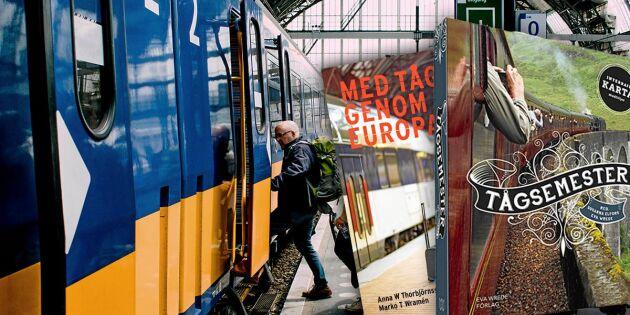 3 reseböcker om tågsemester du inte får missa!