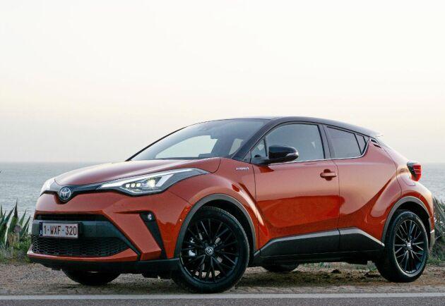 Toyotas nya elhybrid C-HR.