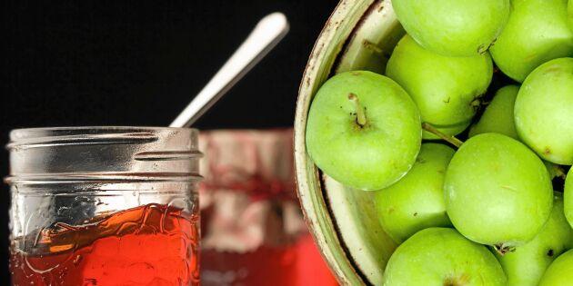 Koka eget pektin av äppelkart – så gör du