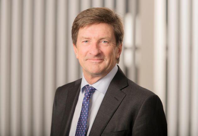 Södras VD och koncernchef Lars Idermark har anledning att glädjas åt bolagets starka kvartalsrapport.