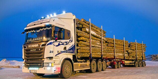 74-tonslastbilar kan tillåtas i hela landet
