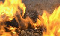 Hyvleri brann ned i natt