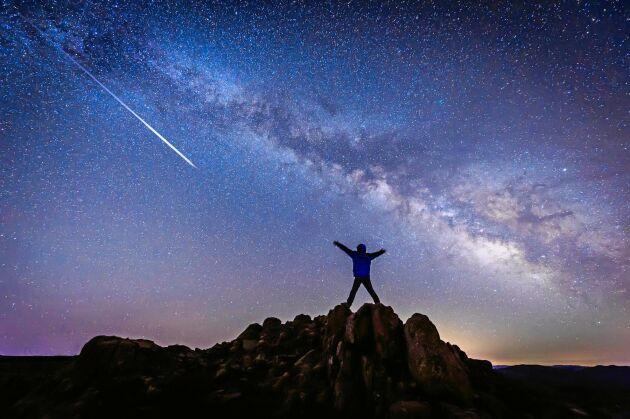 Upplev stjärnfall och andra mäktiga himlafenomen under 2020.