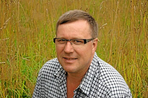 Lars- Ove Johansson, ordförande i LRF Sydost.