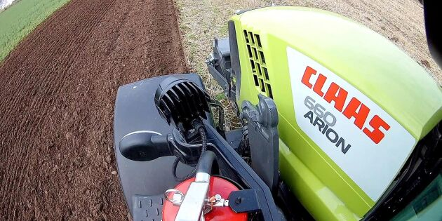 ATL testar CLAAS Arion 660