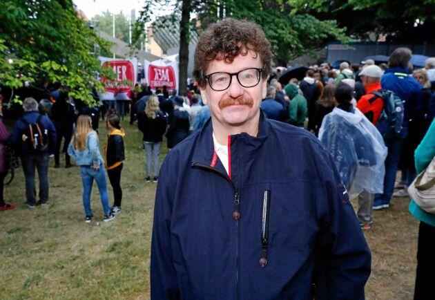 Lars Stjernkvist, kommunalråd i Norrköping och före detta partisekreterare för Socialdemokraterna. Bild från Almedalsveckan 2018.