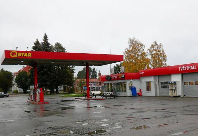 ... och bensinmack. Verksamheterna där är dock utarrenderade.