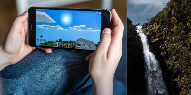Nu översätts dataspelet Minecraft till älvdalska – tack vare Emilia och Christopher!
