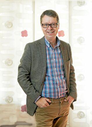 Pär Lärkeryd, VD för Norra Skogsägarna, har anledningen att vara glad eftersom koncernen gjort sitt bästa år någonsin.