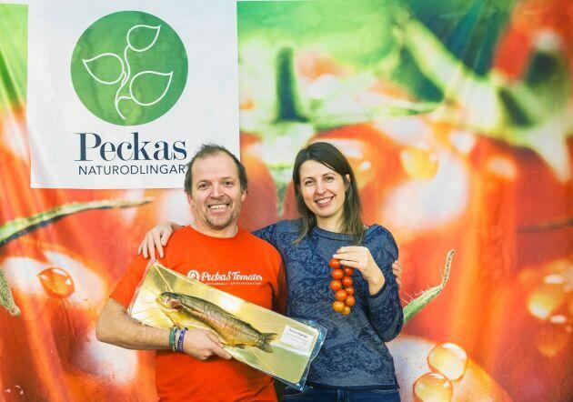 Hugo Wiktröm, en av delägarna, och Elena Petukhovskaya, vd, ser hoppfullt på alla satsningar som nu görs inom företaget.