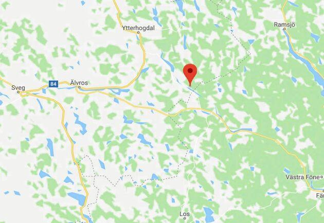 Huskölen ligger i Härjedalen, cirka 60 km från Sveg.