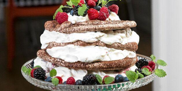 Drömgod chokladmarängtårta – gör till helgen!