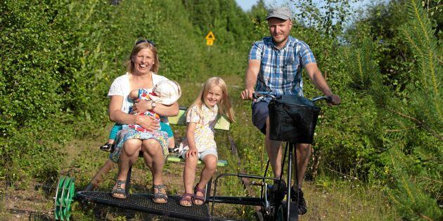 Dressin i Sverige - upplevelse och motion