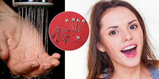 5 huskurer mot statisk elektricitet i hår och kläder