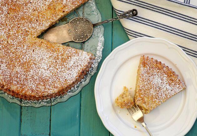 Tuppkakan ska vara lite seg i mitten, det här receptet ger dig prefekt resultat!