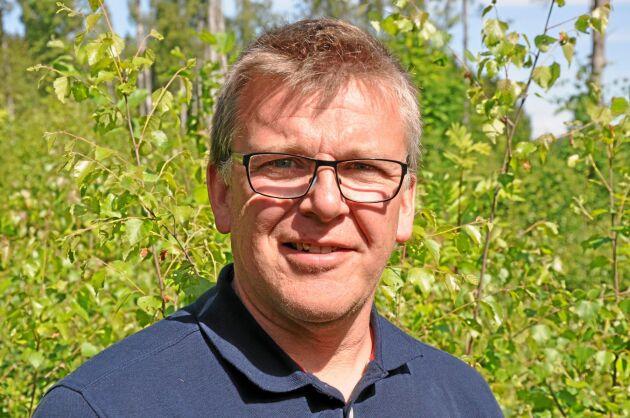 Leif Prag bor på sin gård Nyböle utanför Degerfors i södra Värmland.
