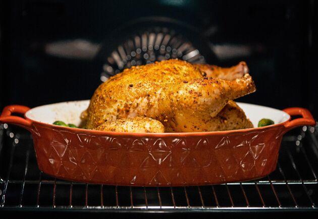 Redan på morfars tid var det helstekt kyckling som gällde.