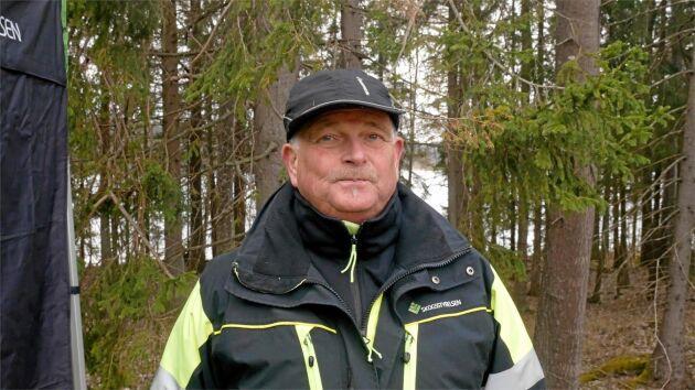 Stefan Andersson, markspecialist på Skogsstyrelsen.