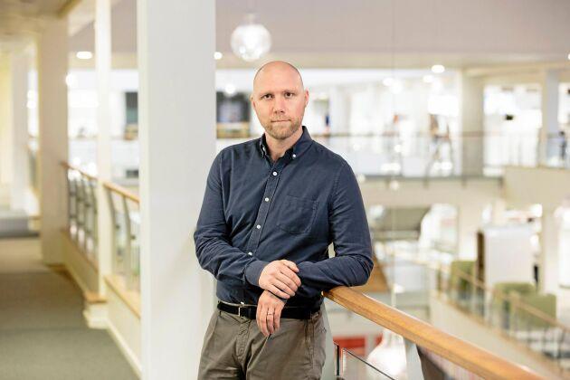 Ola Fernvall, Chef för extern kommunikation på ICA.