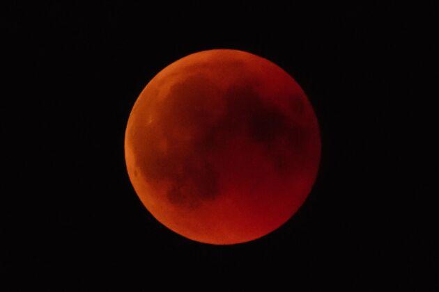 Blodmånen som syntes i delar av Sverige i somras kommer tillbaka i början av 2019.
