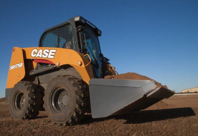 Case nya B-serie har fem hjulburna modeller som kan lyfta mellan 1 220 till 2 000 kilo.