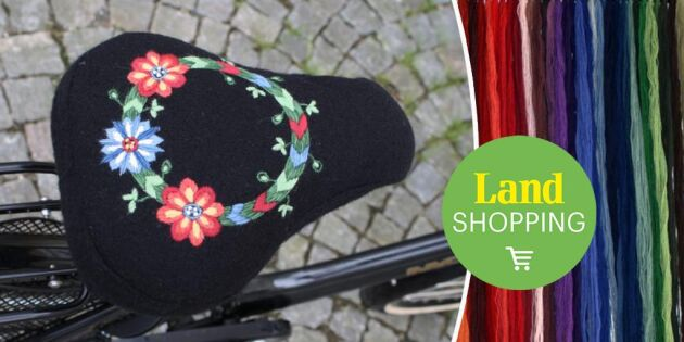 Vackraste sadelskyddet till höstens cykelturer – här hittar du materialsatsen