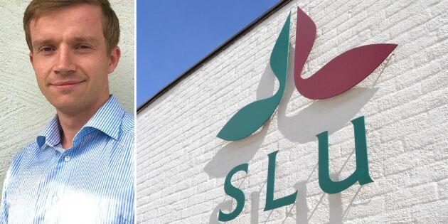 """SLU-utbildad: """"I vissa kurser är lantbruksförståelse en fördel"""""""