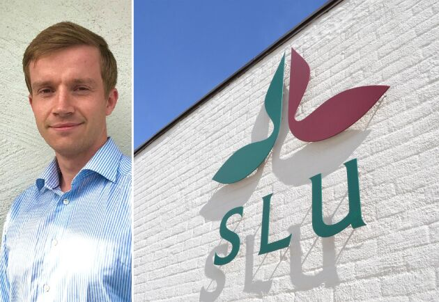 SLU-utbildade Erik Johansson, 27, är nyanställd på BM Agri.