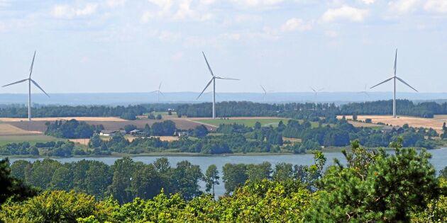 Vindkraftsintressen kör över landsbygdens folk