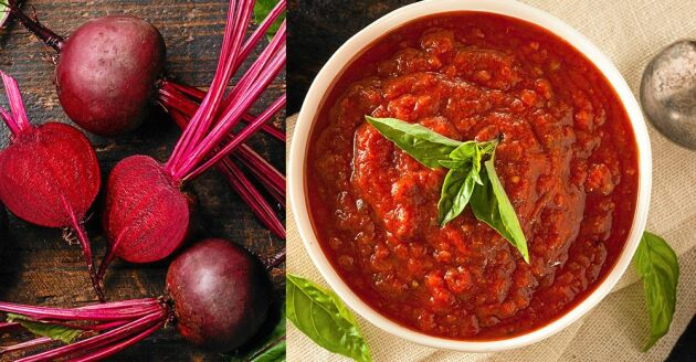 Du kan använda nomatsås på samma sätt som vanlig tomatsås.
