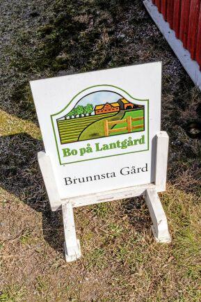 Bo på Lantgård på Brunnsta gård utanför Sigtuna.
