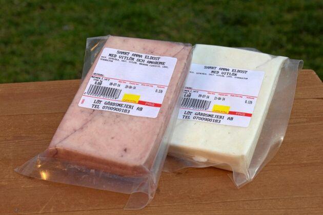 Löt gårdsmejeri i Östergötland producerar den svenska eldosten i flera olika smaker.