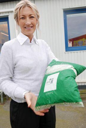 VD Wiveca Almgren på grönsaksföretaget Magnihill.