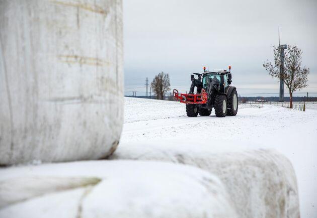 Valtra G 135 Versu är en traktor med hög utrustningsnivå. Men en traktor med hög tekniknivå måste inte vara stor.