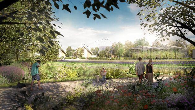 Över 3 000 personer står på kö till de första 200 husen som ska byggas i Almere i Nederländerna.