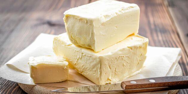 Därför ska du använda smör – inte margarin