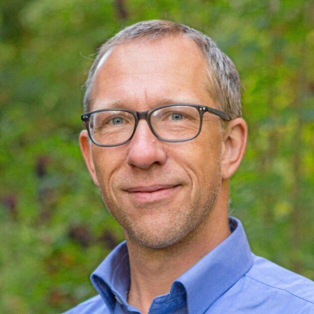 Nils Helmersson, energirådgivare på Hushållningssällskapet i Skåne.