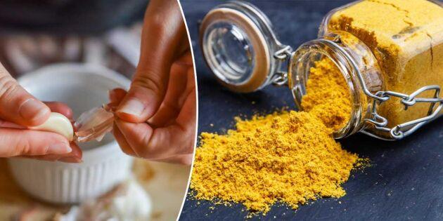 Gör hälsosam gurkmejaröra med körsbärstomater och persilja. Foto: Istock