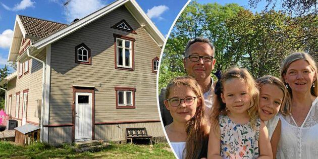 """Svenskbelgiska familjen de Schaetzen tog över småländska släktgården: """"Vår favoritplats"""""""